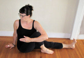 marichi's pose  yoga therapy with cheryl fenner brown ciayt
